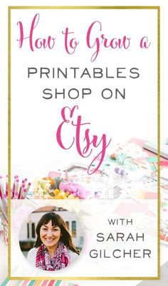 Love how Sarah has built a business with a printables shop on Etsy that works around her life as a stay-at-home mom of three - and a pastor's wife too! She only works 15 hours a week but she makes a great income on the side. Etsy Business, Craft Business, Creative Business, Business Ideas, Online Business, Business Lady, Make Money From Home, Make Money Online, How To Make Money