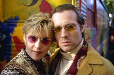 """Amanda Tapping and Michael Shanks in episode """"1969"""" from Stargate: SG1"""