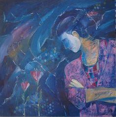 Clown Blue phase #PieterCronjeArt #Clown # Travel Photos, Blues, Painting, Art, Art Background, Travel Pictures, Painting Art, Kunst, Paintings