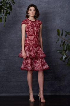 Marchesa Notte 2018 Pre-fall Collection