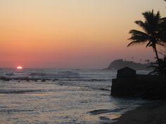 Galle, Sri Lanka Island sunset bliss