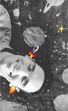 LOOK AT HIM HES SO CUTE !!! CORY + SPACE WHAT AN AESTHETIC IM IN LOVE