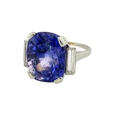 Bvlgari (Bulgari) - Bulgari Natural Ceylon Sapphire Ring offered by D. Bressler & Company, Inc. on InCollect Jewelry Rings, Jewelery, Fine Jewelry, Ceylon Sapphire Ring, Birth Stones, All That Glitters, Bvlgari, Cocktail Rings, Vintage Jewelry