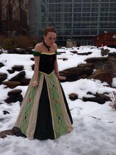 Anna's Coronation Dress From Frozen