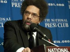Dr. Cornel West spoke recently to a packed ballroom at Bowling Green State University. The noted author, scholar, lecturer, and former surrogate for both t | Cindy A Matthews | Political Storm