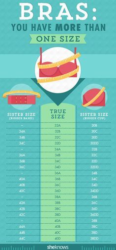 Yes, we all have more than one #bra size. Here is all that you need to know.