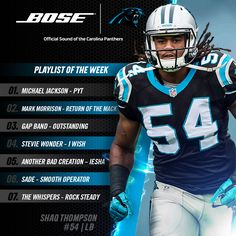 1000+ images about Panther Nation on Pinterest | Shaq Thompson ...