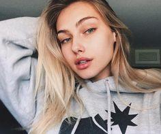 Blonde Beauty, Hair Beauty, Beauty Tips, Blonde Girl Selfie, Subtle Makeup, Tumbrl Girls, Cute Korean Girl, Models Makeup, Cute Couples Goals