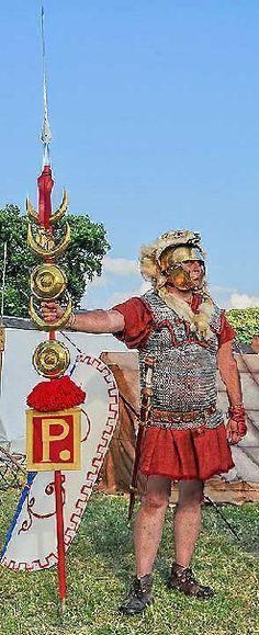 Roman legionary signifer