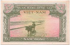 Vietnam ontmoedigt dollar gebruik in navolging van goud Vietnam History, South Vietnam, Horror, Coins, Adventure, Poster, Stickers, Stamps