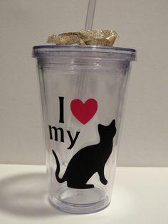 I love my cat tumbler- so cute!