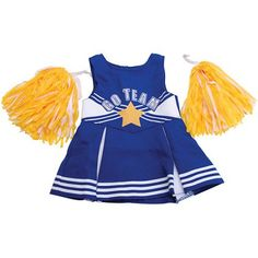 Springfield Collection Cheerleader Outfit, Multicolor