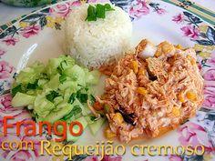 Fricassê de Frango ----@---- chicken fricassee