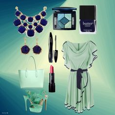 """Mint majesty"" by thegirlwhono-oneknows on Polyvore"