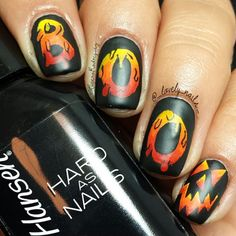halloween by @ _lovely_nails_  #nail #nails #nailart