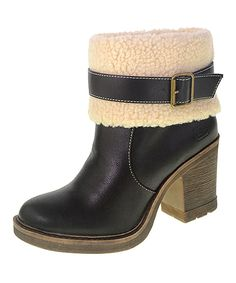 Look what I found on #zulily! Dirty Laundry by Chinese Laundry Black Roll the Dice Ankle Boot by Dirty Laundry by Chinese Laundry #zulilyfinds