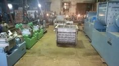 The success story of 'Unique' is linked with the number of Sigma Mixers manufactured till date.  The picture above shows 8 Sigma Mixers in manufacture, nearing readiness of capacity ranging from 3 Liter Working to 1000 Liter Working (standard models available upto 3000 Liter Working, Higher Models manufactured on request)