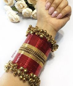 Indian Ethnic Traditional Glass Bangles - ArtsyCraftsyDad