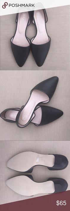 J.jill Sale ‼️ New J.Jill flats size 8 very dark green (looks black) J. Jill Shoes Flats & Loafers