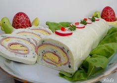 My Recipes, Diet Recipes, Favorite Recipes, Cold Dishes, Hungarian Recipes, Romanian Recipes, Romanian Food, Fresh Rolls, Food Art