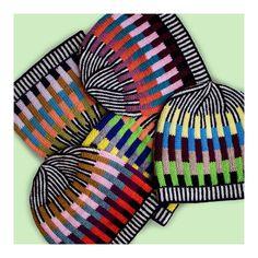 Multiplying 🤖🤖🤖 #knit #knitting #knitwear #kidsknit #mininit #ninaborn #beanies #hats #handmade #colourknitting #stripesstripesstripes