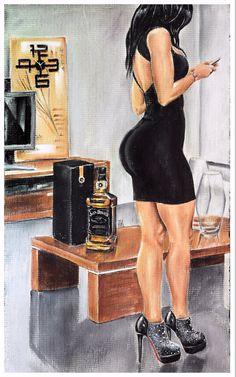 JEREMY WORST Sinatra Original Artwork Signed by JeremyWorst
