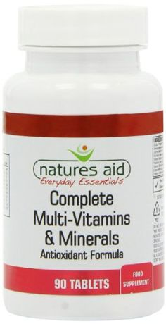 Natures Aid Complete Multi Vitamins and Minerals Tablets – Pack of 90 Tablets - http://vitamins-minerals-supplements.co.uk/product/natures-aid-complete-multi-vitamins-and-minerals-tablets-pack-of-90-tablets/