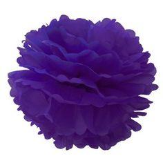 Pompon en papier - 40 cm - Violette en sucre  3,90€