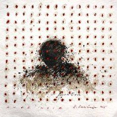 "Saatchi Art Artist Hanna Sidorowicz; Drawing, ""Portrait, 2015( on show)"" #art"