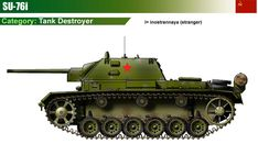 SU-76i Tank Destroyer