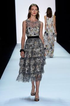 Badgley Mischka was the height of luxury at NYFW -- and you can see the Spring 2016 pics from Fashion Week right here.