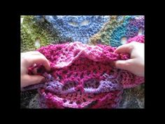 Pine Notes ~Crochet~EOW November 18~Metallic Shawl in a Ball, Tunisian c...