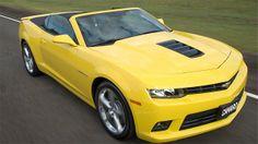 Canadauence TV: Chevrolet lança oficialmente o Camaro conversível ...