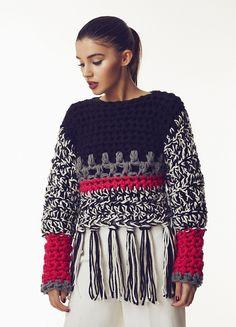 Fabulous Crochet a Little Black Crochet Dress Ideas. Georgeous Crochet a Little Black Crochet Dress Ideas. Crochet Bodycon Dresses, Black Crochet Dress, Knitwear Fashion, Crochet Fashion, Pull Crochet, Knit Crochet, Knitting Patterns, Crochet Patterns, Craft Patterns