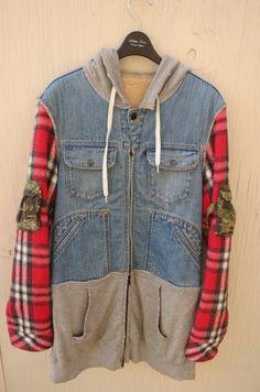 Number (N)Ine High Streets 05 Hybrid Jacket Size M $600 - Grailed