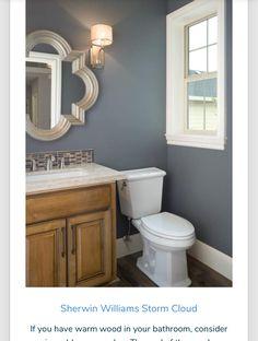 Bathroom wall color ideas paint colors for bathrooms best bathroom wall colors ideas on guest bathroom colors bathroom paint colors bathroom feature wall Bathroom Wall Colors, Bathroom Ideas, Paint Bathroom, Bathroom Cabinets, Gold Bathroom, Bathroom Vanities, Paint Colors For Bathrooms, Bathroom Storage, Bath Paint