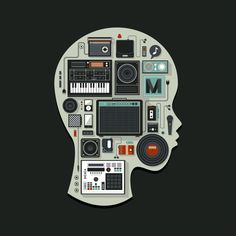 Music Illustration on Behance