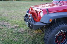 Rusty's JK Wrangler Full Width Trail Bumper - Overland Gear HQ