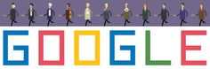 Google Doodle celebrates Doctor Who's 50th Anniversary!! Now I will always have this, YES!!!