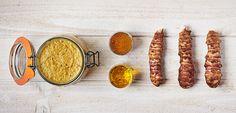 Velouté de topinambours au curry en conserve