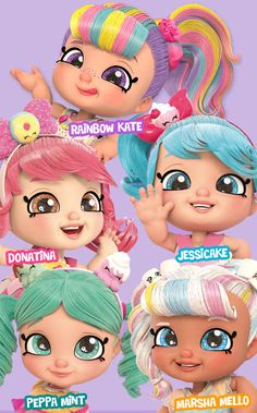 Shoppies Dolls, Shopkins And Shoppies, Baby Girl Toys, Toys For Girls, Kids Toys, Lol Dolls, Cute Dolls, Shopkins Characters, Art Kits For Kids