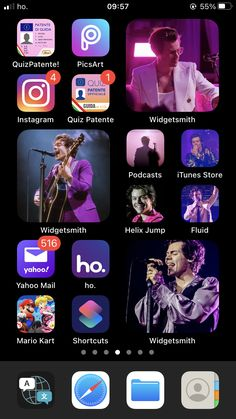 Iphone Design, Ios Design, Harry Styles Edits, Harry Edward Styles, Mario Kart, Picsart, Neon Room, Ios Icon, Treat People With Kindness