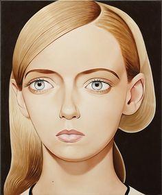 Peter Stichbury - Elizabeth Klarer, 2013, Acrylic...