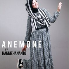 Houndstooth Dress Gamis
