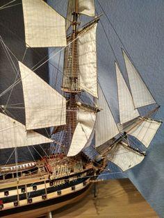 Velas Model Sailing Ships, Model Ships, Model Ship Building, Pirate Ships, Wooden Ship, Tall Ships, Sailboats, Rigs, Pirates