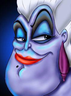 The Little Mermaid - Ursula Disney Dream, Disney Love, Disney Magic, Disney Art, Disney Pixar, Walt Disney, Disney Bound, Ursula Disney, Disney Little Mermaids