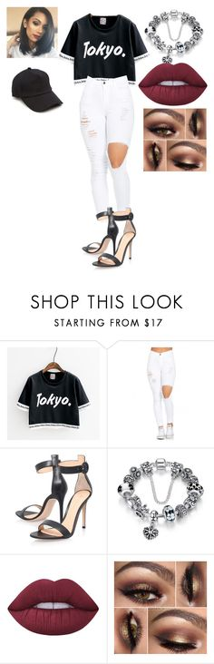 """""""Untitled #311"""" by nerdgirl14-boss on Polyvore featuring Gianvito Rossi, Lime Crime and rag & bone"""