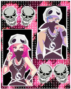 Team Skull Grunts! They look marvelous #pokemon #teamskull