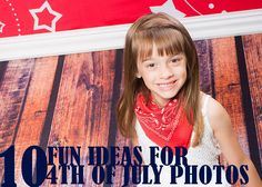 10 Fun Ideas for Your 4th of July Photography! | Backdrop Express
