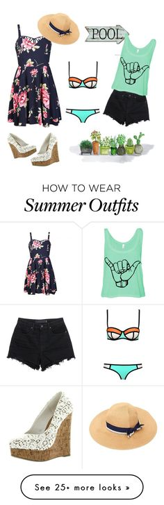 """Its summer in 50% of the world..."" by trendsetter12 on Polyvore featuring Ally Fashion, T By Alexander Wang, women's clothing, women's fashion, women, female, woman, misses and juniors"